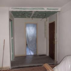 Séjour rénovation sol et mur 4 Avant suite - RD Rondelet
