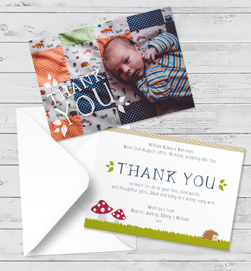 woodland-thank-you-card