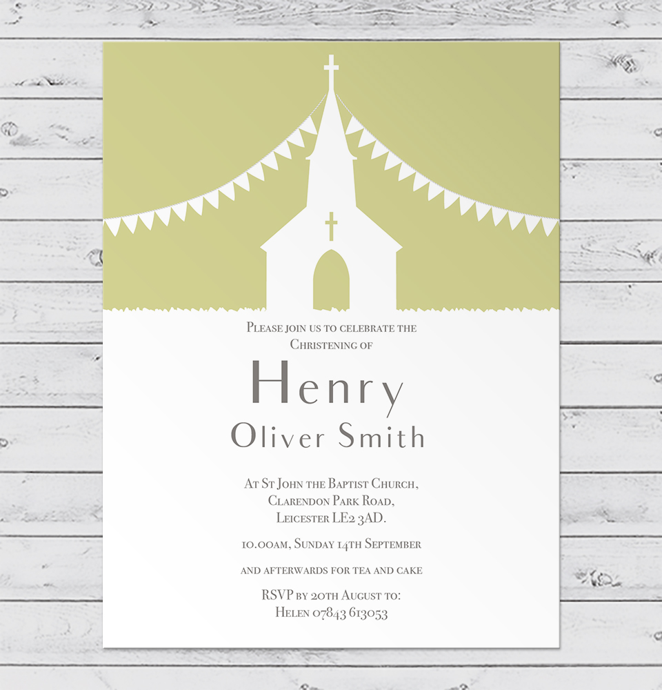 christening-church-invitation-green