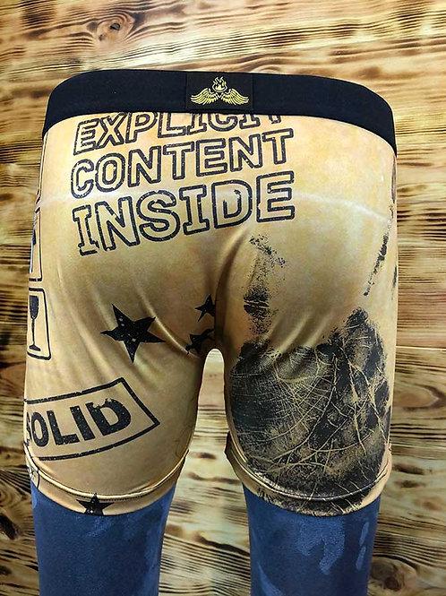 """Boxer Megalo """" Explicit content inside """""""