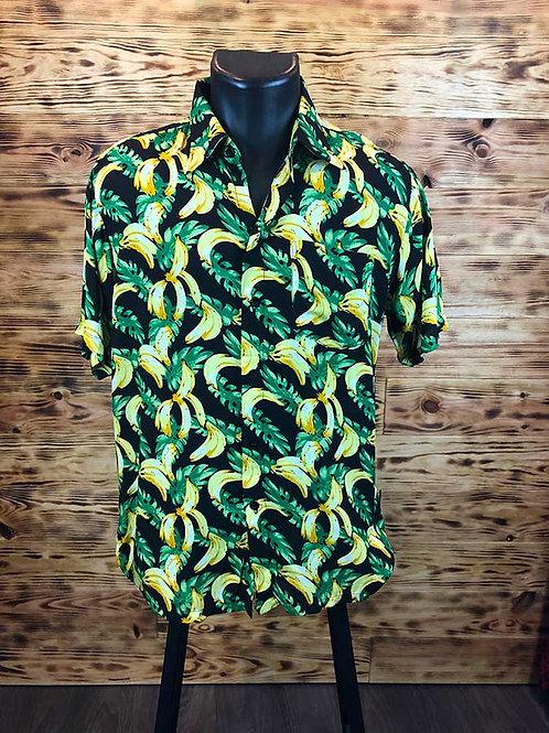 """Chemise noir imprimé  """" Banana  """""""