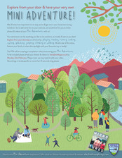 Leven Valley PTA - Mini Adventure Poster
