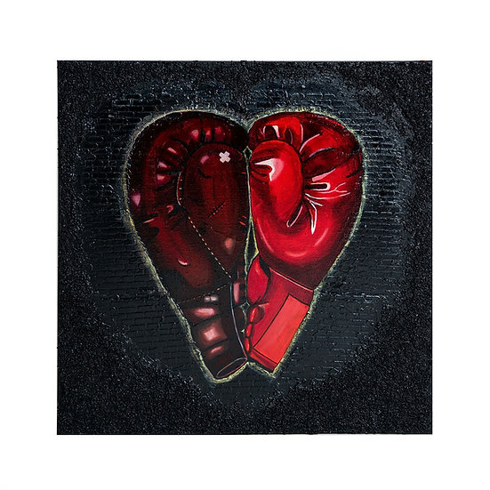 Love Is Worth A Fight 20*20in