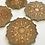 Thumbnail: Mandala resin coasters, set of 4