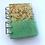 Thumbnail: Handmade resin notebook and 1 pen