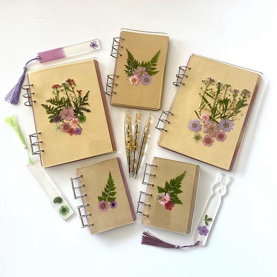 Set: Spring Notebook, pen & bookmark