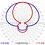 Thumbnail: ALDENA ACG0102230, Antena Anillo FM, 87.5-108MHz, 2.23dBd, Pol.Circular, Inox. N