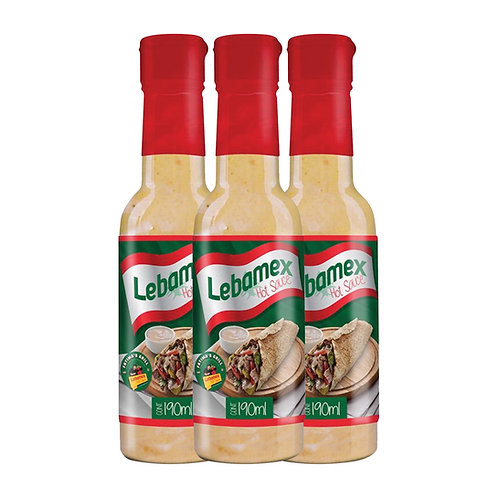 3 Pack Lebamex Hot Sauce