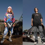 Ashley Fiolek and Paul Rodriguez
