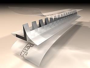 Perf Offset Plus 8 dents - Petit - boîte de 1.83 m