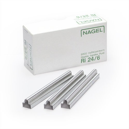 Agrafes NAGEL 24/6 RI - Oeillets