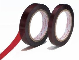 Adhésif inactinique Rouge - 12 mm x 66 m