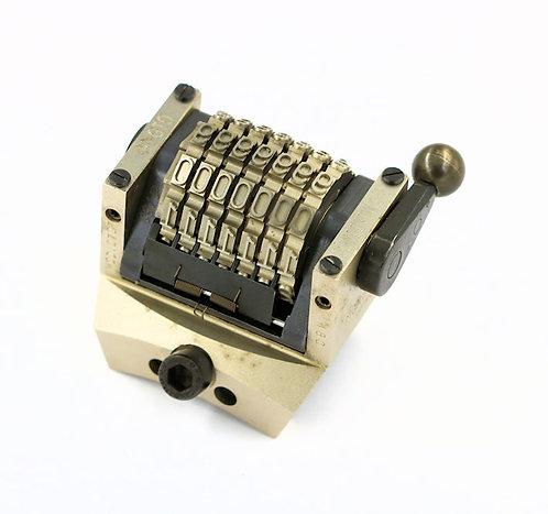 Numéroteur GTO Tonneau comptant 4.76 mm