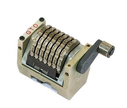 Numéroteur GTO Droit comptant 4.76 mm