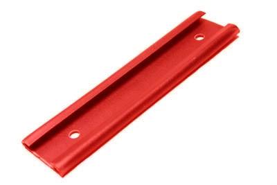 Glissière rouge pour papier pelure