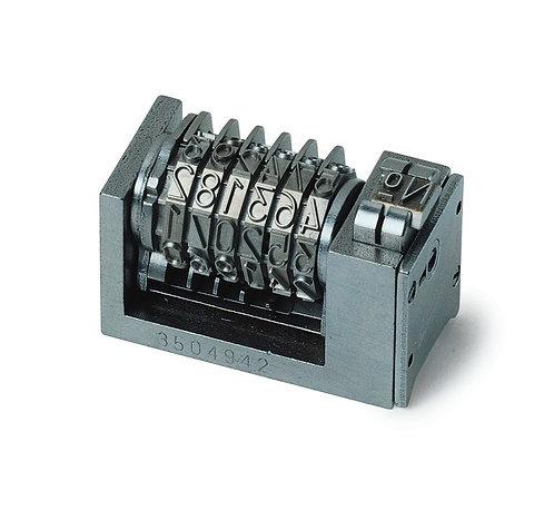 Numéroteur 4x8 cicéro à 7 molettes pour LIASSES