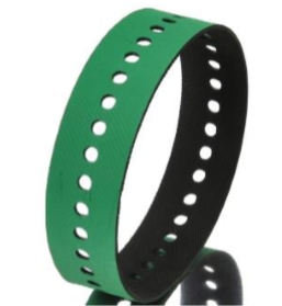 Courroie d'aspiration - verte - plate