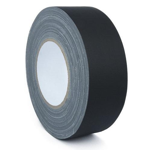 Adhésif pour dos de carnet - Noir Mat - Largeur 38 mm x 50 m.