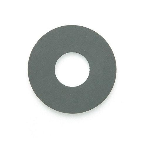 Sucette plate - 38 x 13 x 0.8 mm - Caoutchouc gris