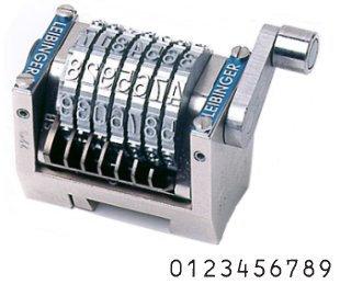 Numéroteur horizontal décomptant gravure 115