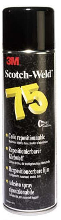 Colle 3M 75 - Repositionnable