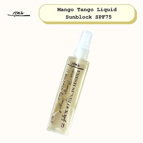 Mango Tango Liquid Sunblock SPF75