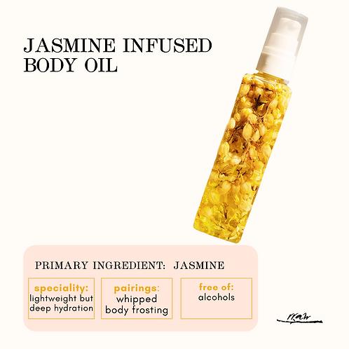 Jasmine Infused Body Oil