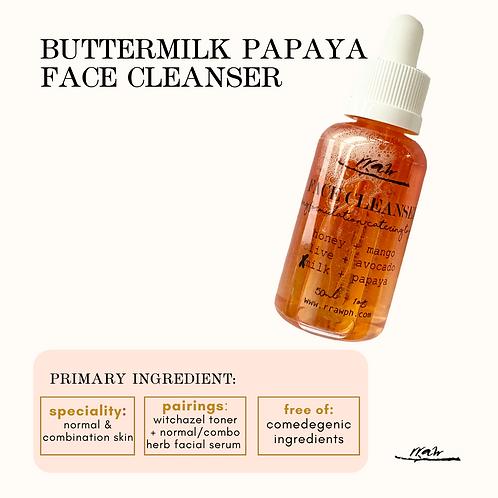 Buttermilk Papaya Face Cleanser