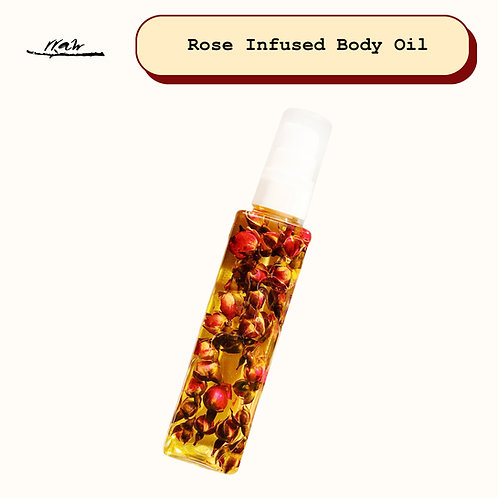 Rose Infused Body Oil