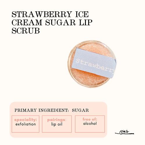 Strawberry Sugar Lip Scrub