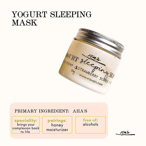 Yogurt Sleeping Mask
