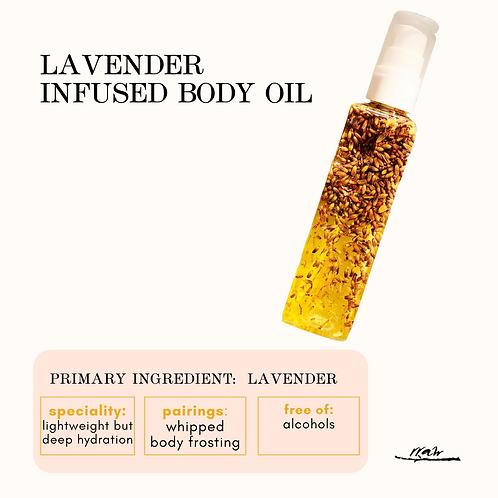 Lavender Infused Body Oil