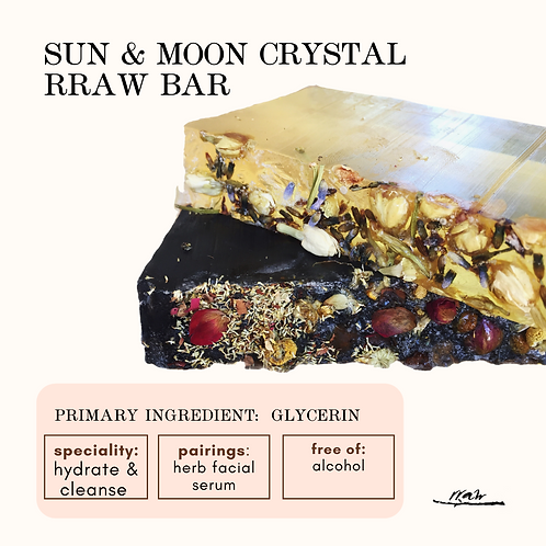 Sun and Moon Crystal Cleanser