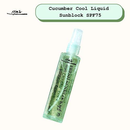 Cucumber Cool Liquid Sunblock SPF75