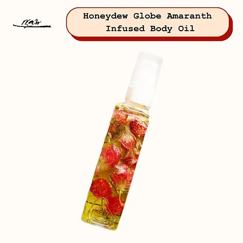 Globe Amaranth Infused Body Oil