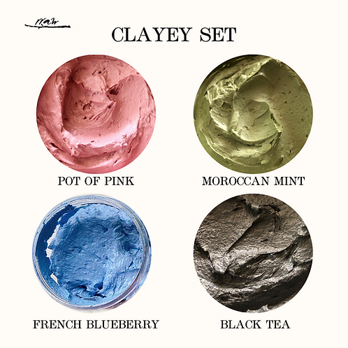 Clayey Collection Set