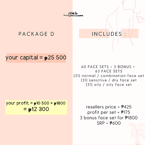 Package D #YourTypeFaceSet