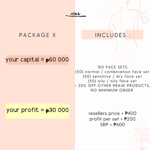 Package X #YourTypeFaceSet