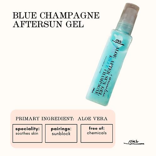 Blue Champagne After Sun Gel