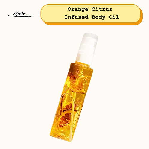 Orange Citrus Infused Body Oil