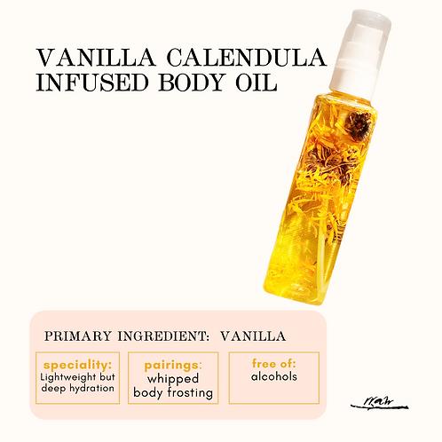 Calendula Vanilla Infused Body Oil