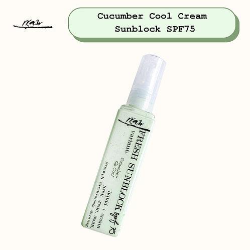 Cucumber Cool Cream Sunblock SPF75