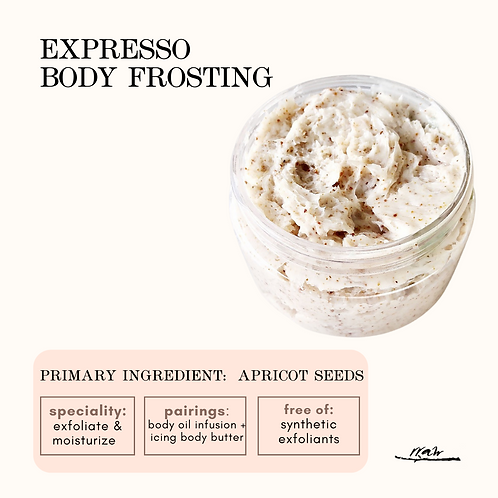Expresso Body Frosting