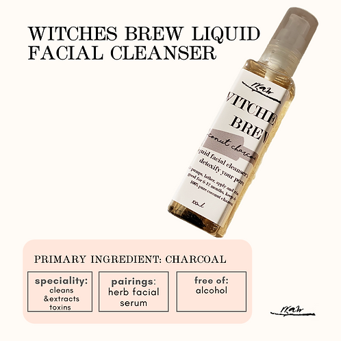 Witches Brew Liquid Face Cleanser