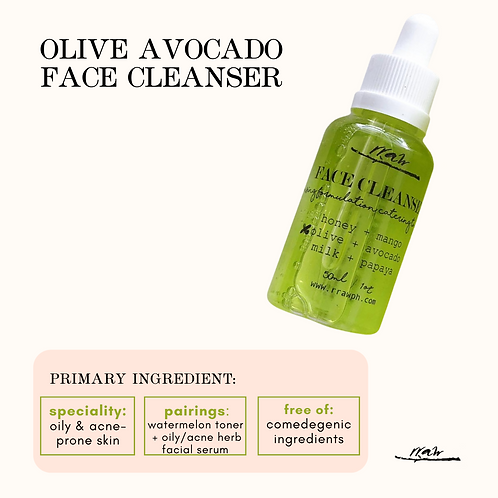 Olive Avocado Face Cleanser