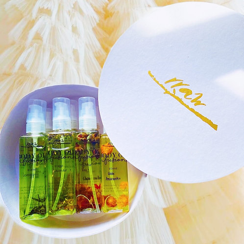 Body Oil Collection Set