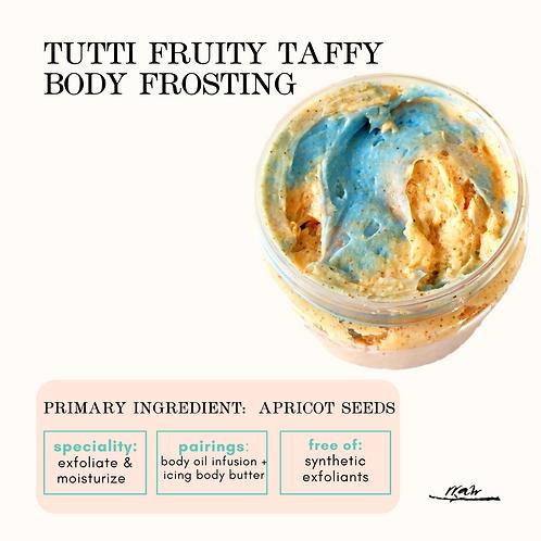 Tutti Fruity Taffy Body Frosting