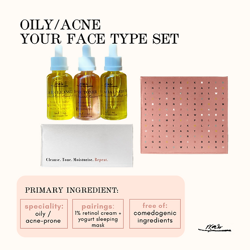 Oily / Acne Your Type Face Set