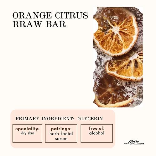 Orange Clay Body Bar