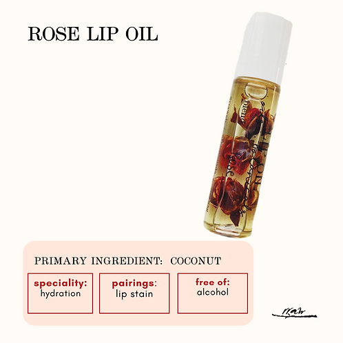 Rose Lip Oil
